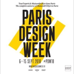 Paris design week affiche