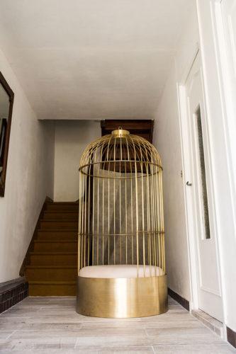 Cage posée