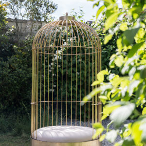 Fauteuil cage