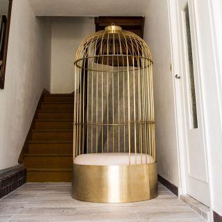 Cage posé Happé